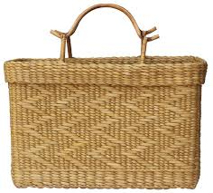 bulk buy 18 u201d water reed shopping bag u2013 wholesale hand woven eco
