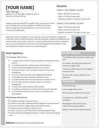 Office Manager Resume Sample by Office Manager Resume Contents Layouts U0026 Templates Resume Templates