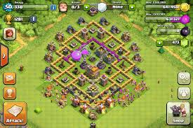 layout coc town hall level 7 image base of mine png clash of clans wiki fandom powered by wikia