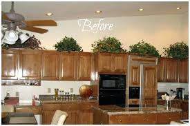 what do you put on top of kitchen cabinets what do you put on top of kitchen cabinets p install crown molding