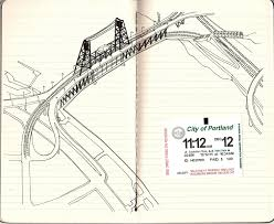 Portland Bridges Map by Willamette River Reportlandoregon