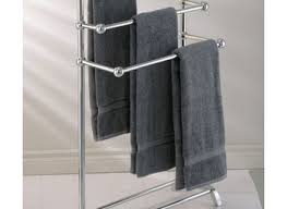 Bathroom Towel Holder Modern Chrome Towel Ring Holder Wall Mounted Square Bathroom Realie
