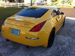 nissan 350z yellow color blackdriver242 2005 nissan 350z35th anniversary coupe 2d specs