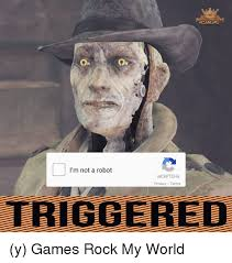 I Robot Meme - i m not a robot recaptcha privacy terms y games rock my world meme