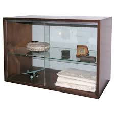 Mahogany Display Cabinets With Glass Doors by Mahogany Sliding Glass Door Cabinet By George Nelson At 1stdibs