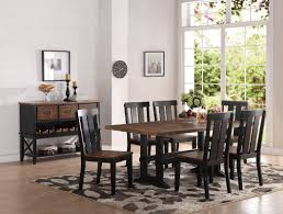 gracie oaks goodman 7 piece dining set u0026 reviews wayfair