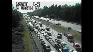 Wsdot Seattle Traffic Map by Major U0027 Multi Car Crash Created Huge Backups On I 5 In Kent Area
