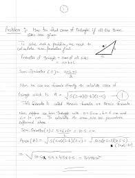 Area Formula by Hero U0027s Or Heron U0027s Formula To Calculate Area Of Triangle Math On