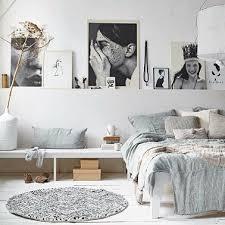 chambre en bois blanc chambre blanche déco scandinave gris bois blanc