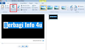 membuat intro video dengan movie maker cara buat video intro sederhana dengan windows movie maker