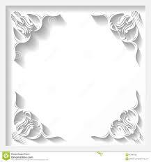 white frame stock vector image of illustration antique 43666766