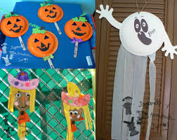 halloween kid crafts to make halloween kids craft handprint