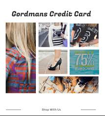 gordmans credit card 2 attractive benefits tell me