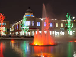 easton town center christmas lights images