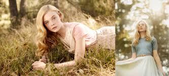 a look back at elle fanning u0027s fashion editorials thus far plus
