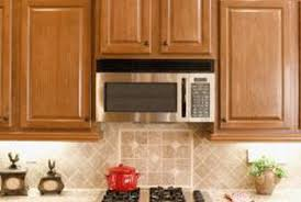 how to install microwave brackets around a tile backsplash home