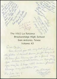 brackenridge high school yearbook 1962 brackenridge high school yearbook online san antonio tx