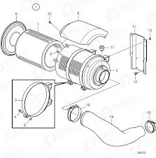 insert 21212204 price volvo intake and exhaust system spare parts