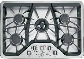 Ge Profile Glass Cooktop Replacement Kitchen Best Ge Profile Series Black 30 Inch Built In Gas