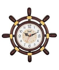 ariel quartz brown wall clock buy ariel quartz brown wall clock