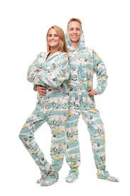 kajamaz footed pajamas and jumpsuits for adults and kids