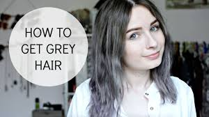why have i gor grey hair in my 30s how i get grey hair q a video tessa holly