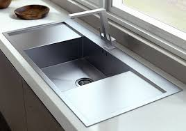 single sink to double sink plumbing single bowl with double drain board sink manufacturer in delhi