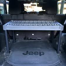 jeep wrangler storage bug out jeep diy storage b o v preparedness