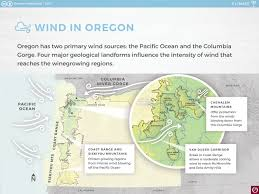 Oregon Wineries Map by Climate Oregon Wine Resource Studio