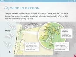 Oregon Ava Map by Climate Oregon Wine Resource Studio