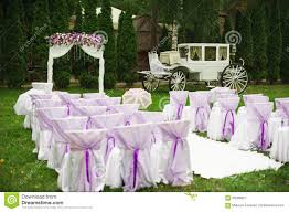 purple wedding decorations wedding decorations in white and purple stock photo image 59286657