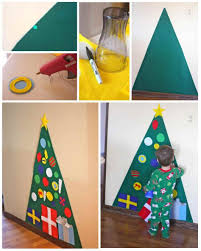 diy christmas decorations for toddlers ne wall