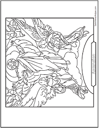 coloring page of jesus ascension jesus ascension coloring page catholic coloring pages to print