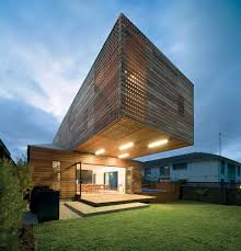 Cantilever Home by The Trojan House Jackson Clements Burrows Architects Archdaily