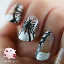 piggieluv hand painted black u0026 white butterfly