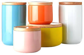 colorful kitchen canisters sets colored canisters for kitchen colorful kitchen canisters