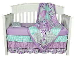 Crib Bedding Sets by Amazon Com Purple Baby Bedding Zoe 4 In 1 Bedding Set By The
