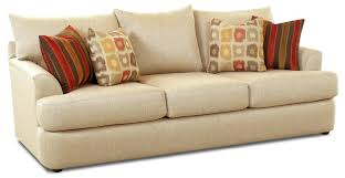 Sofa Pillows by Three Over Three Sofa With Accent Pillows By Klaussner Wolf And