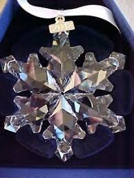 swarovski limited edition snowflake