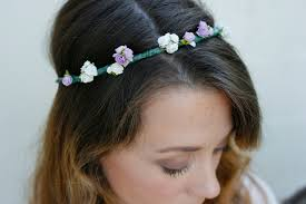 hippie flower headbands diy how to make a flower garland crown daisychains dreamers