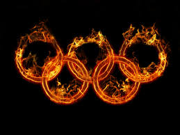 rings with fire images Olympic rings of fire day 60 365 days of design jpg
