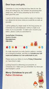 royal mail santa letters explained when u0027s the last posting date