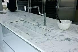 cuisine marbre blanc plan travail marbre plan de travail cuisine marbre plans travail