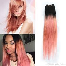Two Tone Ombre Hair Extensions by Cheap 300g Kiss Hair Ombre Human Hair Bundles Two Tone T 1b Pink