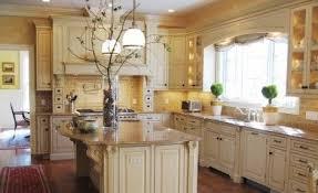 Cream Distressed Kitchen Cabinets Black Island Cream Cabinets Cream Colored Kitchen Cabinets Dark