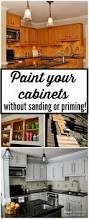 Restain Kitchen Cabinets Darker How To Stain Kitchen Cabinets Darker Without Sanding Best Home
