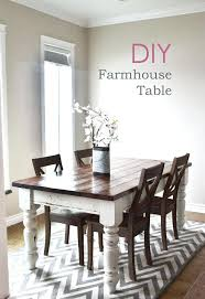 white farmhouse table black chairs white farmhouse table our and afters are about making our lives