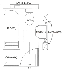 how to design a small bathroom layout amazing original small