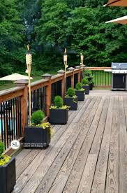 Wrap Around Deck Designs by Best 25 Black Deck Ideas On Pinterest Contemporary Outdoor