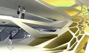 Futuristic Design Futuristic Cellular Structure Architecture Biomimicry